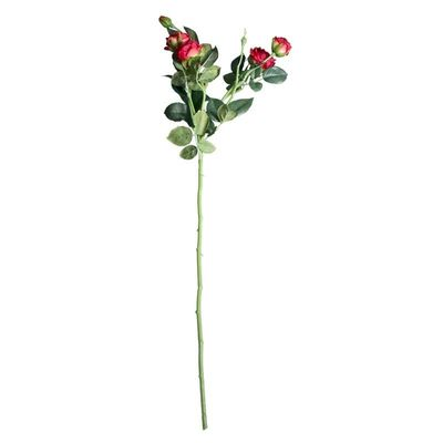 Camelot Garden Rose Spray Scarlet Red