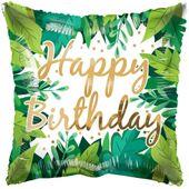 ECO ONE Balloon - Birthday Foliage (18 inch)