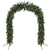 1.5m x 2.10m Deluxe Evergreen Arch (800 Tips)