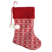 Fabric Christmas Stocking