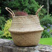 20cm Natural Belly Basket