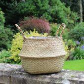 17cm Natural Belly Basket