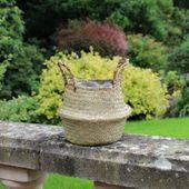 11.5cm Natural Belly Basket