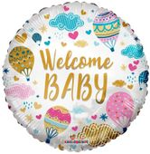 Eco Balloon - Welcome Baby Hot Air Balloons (18 Inch)