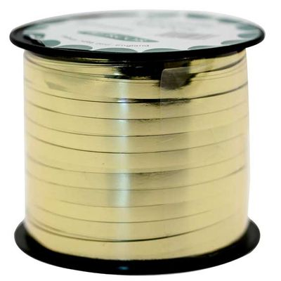 Gold Metallic Curling Ribbon